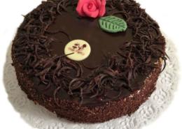 Hapukoore-šokolaaditort