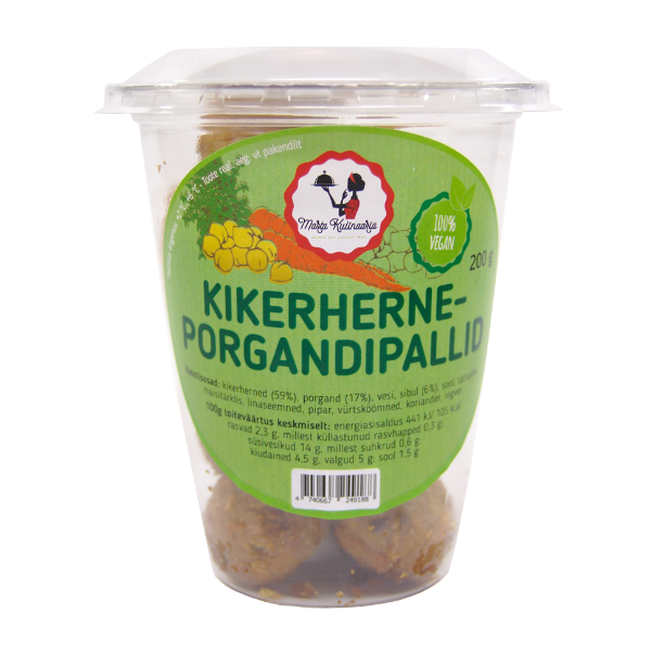 Kikerherne-porgandipall