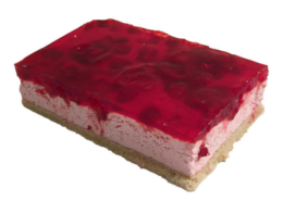 Maasika-kohupiimakook