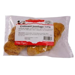 Croissant juustuga pakendis